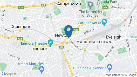Newtown's Best Designer Apartment H395 Map