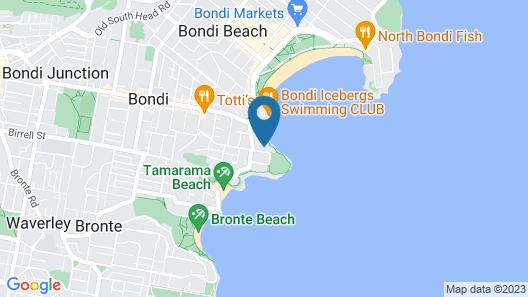 All The Views Bondi Beach Map