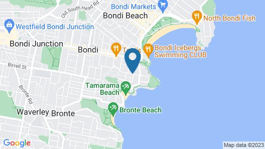 Bondi Beachouse Backpackers YHA - Hostel Map