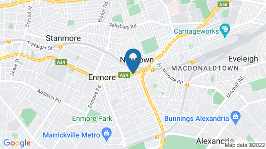 The Urban Newtown Map