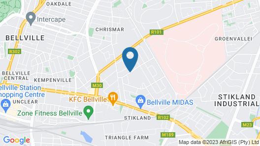 Balmoral Lodge Map
