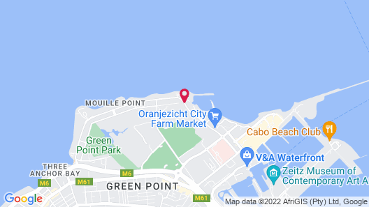 Radisson Blu Hotel Waterfront, Cape Town Map