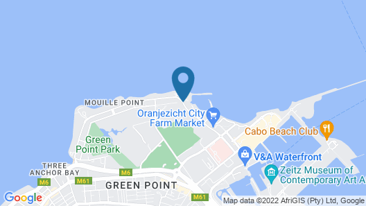 Radisson Blu Hotel Waterfront, Cape Town Map