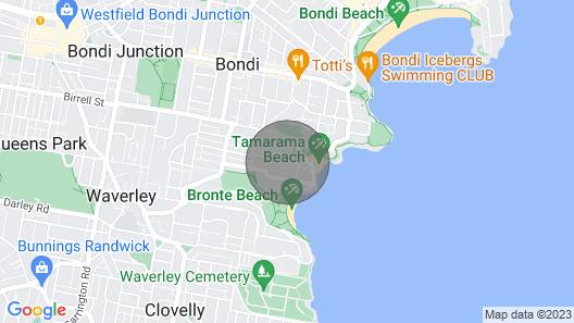 Tama Beach House - 3BR - Fully-renovated Family Beach House Map