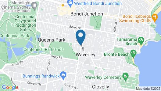 Charing Cross Hotel Map