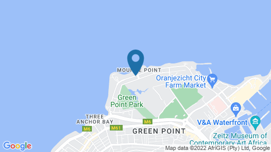 Mouille Point Village Map