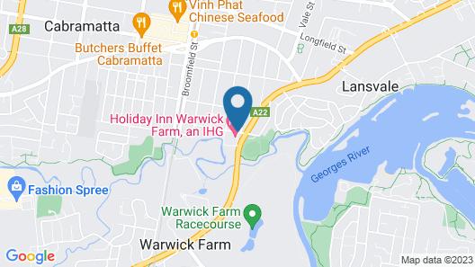 Holiday Inn Warwick Farm, an IHG Hotel Map