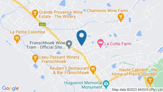 Villa Ashbourne Map