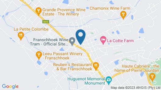 De Ville Lodge Map