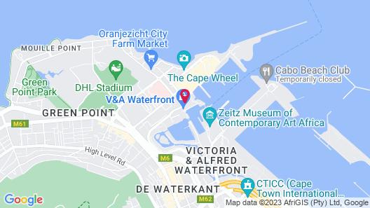 Victoria & Alfred Hotel Map
