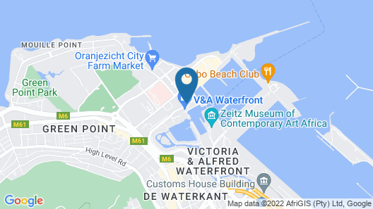 Victoria & Alfred Hotel Map