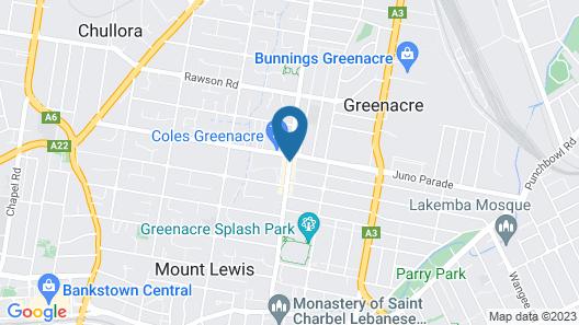 Greenacre Hotel Map