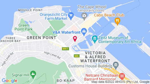 One&Only Cape Town Map