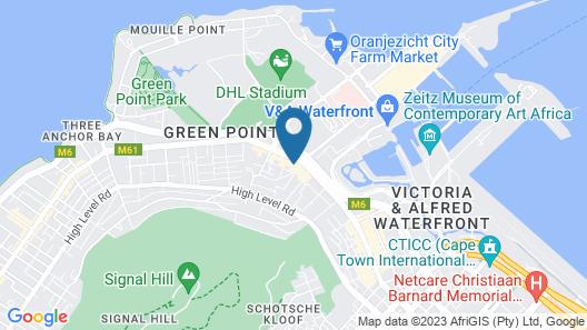 Cape Royale Luxury Suites Map