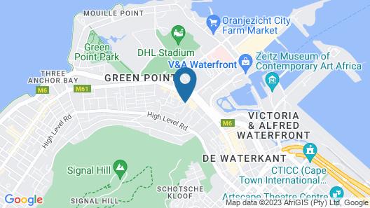 Afari Luxury Boutique Map