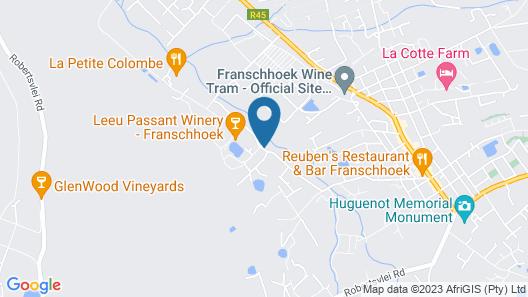Little Willow Brooke Franschhoek Map