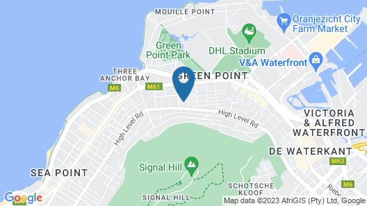 Cape Standard Villa Map