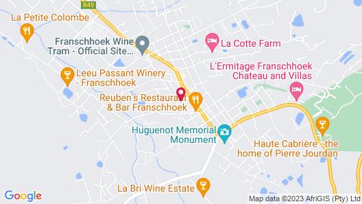 Mont d'Or Franschhoek Map