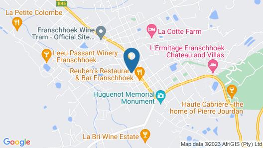 Maison Fougere Map