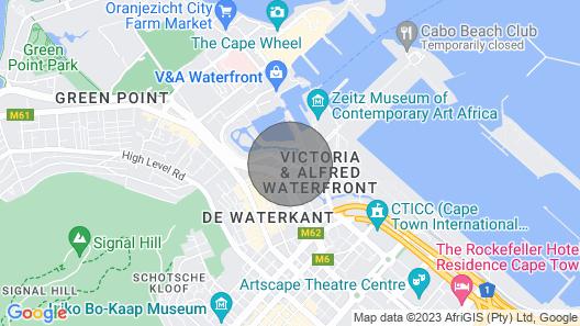 The Marina - V & A Waterfront Map