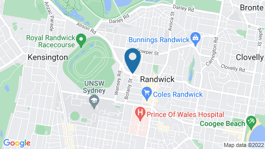 The Alison Randwick Map