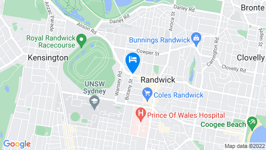 The Alison Randwick Map