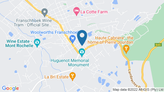 Akademie Street Guesthouses Map