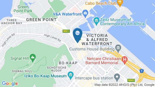 Protea Hotel by Marriott Cape Town Victoria Junction Map