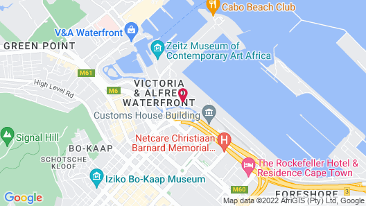 AC Hotel by Marriott Cape Town Waterfront Map