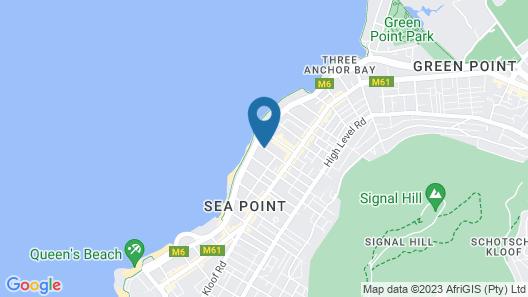 Premier Hotel Cape Town Map