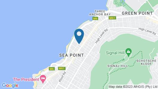 Spring Tide Inn Map