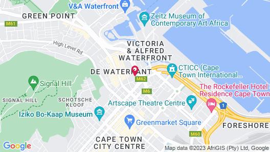 Harbouredge Apartments Map