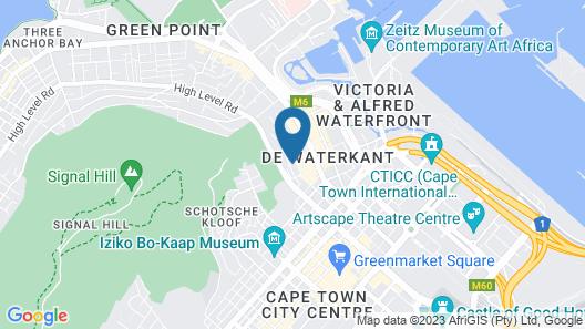 De Waterkant Cottages Map