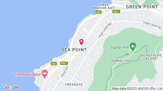 The Verge Aparthotel Map