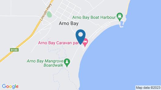 ARNO BAY CARAVAN PARK Map