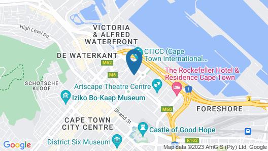 Capetonian Hotel Map