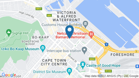 Icon Luxury Apartments Map