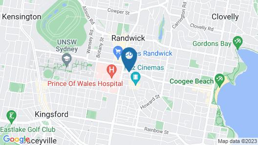 Royal Hotel Randwick Map