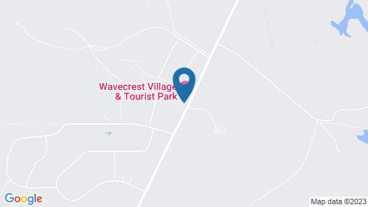 Wavecrest Village & Tourist Park Map