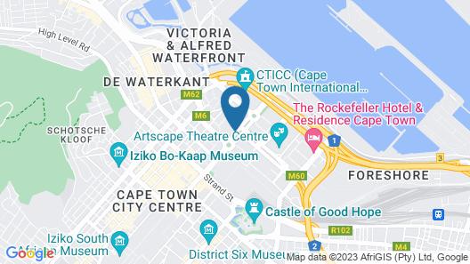 Park Inn by Radisson Cape Town Foreshore Map