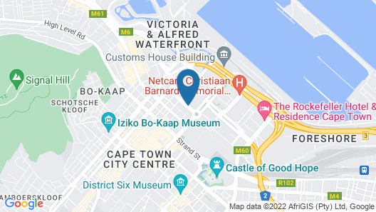 Hollow on the Square City Hotel Map