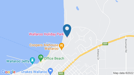 Wallaroo Holiday Park Map