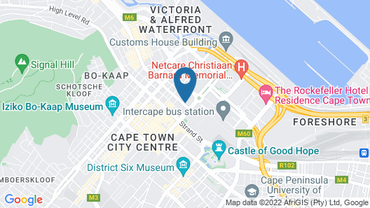 Hotel On St Georges Map