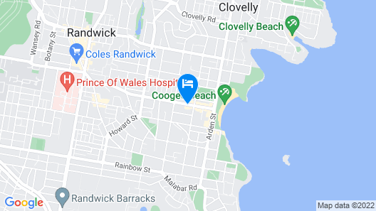 Adina Apartment Hotel Coogee Sydney Map