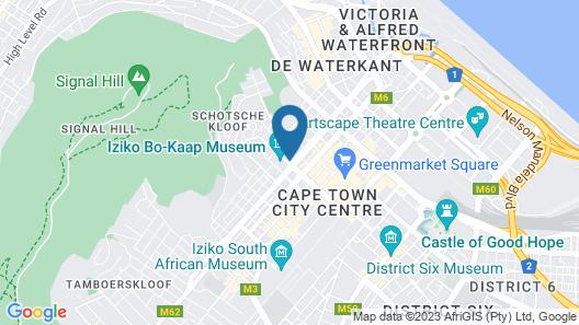 Hyatt Regency Cape Town Map