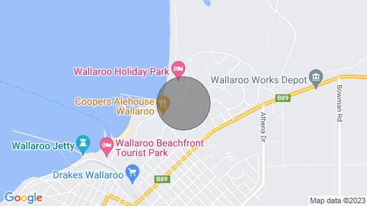 'the Shack' Copper Cove Marina Map