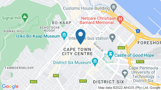 ONOMO Hotel Cape Town – Inn on the Square Map