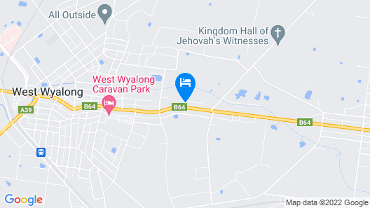 Ardeanal Motel West Wyalong Map