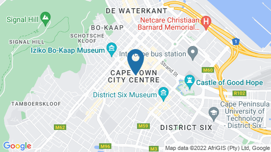 Taj Cape Town Map