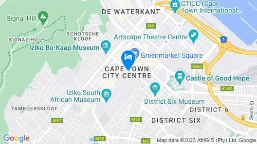 Taj Cape Town Map